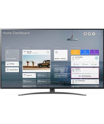 Televisor Lg 65nano816na - 65''/165cm - 3840*2160 4k - hdr - dvb-t2/carga superior 2 - s L65NANO816NA - 80073139_7490499537