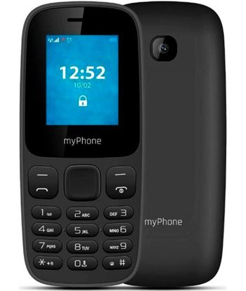 Hammer myphone 3330 negro m?vil 2g dual sim 1.77'' c?mara 0.3mp bluetooth sd fm mp 3330 black