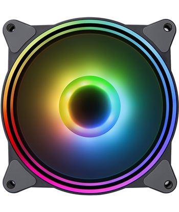 Ventilador Hiditec n8-argb - 1200rpm - 120mm - iluminación argb rainbow - 2 VGCH10003 - 80120501_2034793882