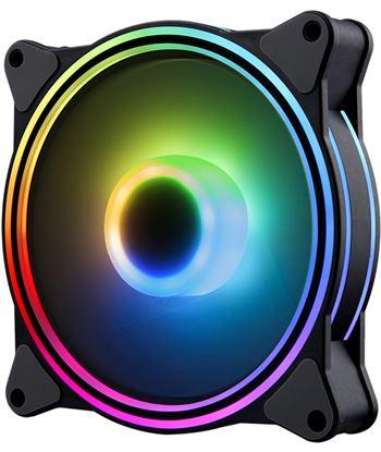 Ventilador Hiditec n8-argb - 1200rpm - 120mm - iluminación argb rainbow - 2 VGCH10003