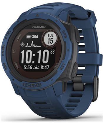 Reloj deportivo Garmin instinct solar azul - pantalla 23*23mm - carga solar 010-02293-01