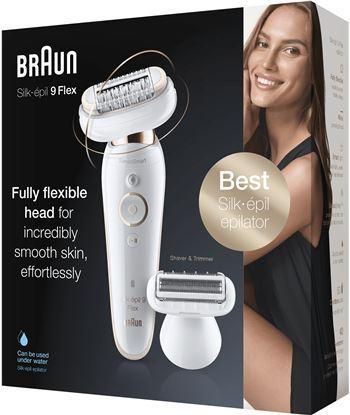 Braun 9-002 depiladora silk epil 9 flex sensosmart - 78687251_6155037976
