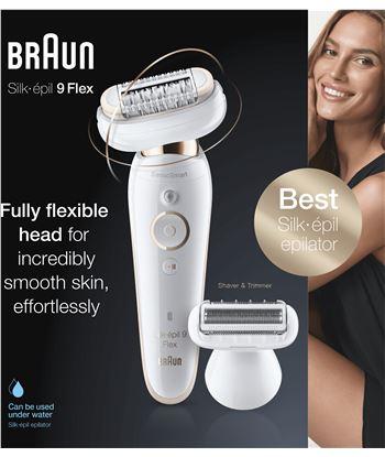 Braun 9-002 depiladora silk epil 9 flex sensosmart - 78687251_2201197841