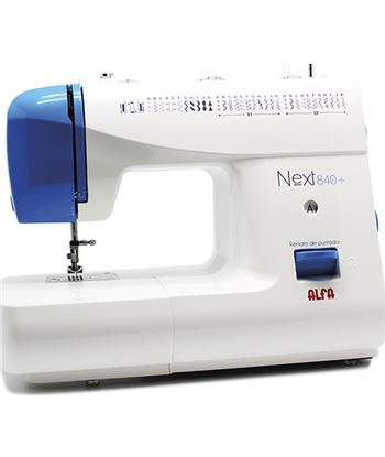 Maquina coser Alfa next840+ azul A0841 Hogar - A0841