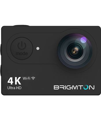 Cámara deportiva Brigmton bsc-10hd4k wi-fi + accesorios BSC10HD4K - BRIBSC10HD4K