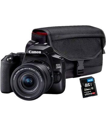 C.reflex Canon eos 250d 18-55 +bolso+sd16gb KIT EOS 250D NE - 8714574661490