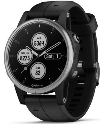 Garmin FENIX 5S PLUS Plata con correa negro mar 42mm reloj multideporte pre - +99248