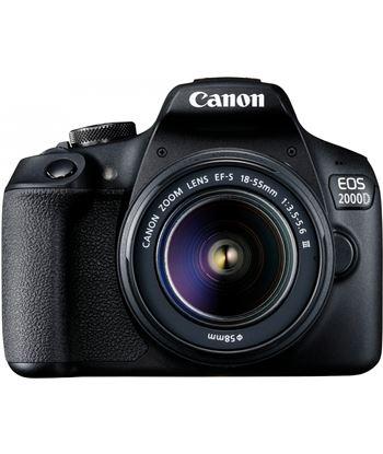 Reflex Canon eos2000d 18-55dc+ bolsa+sd+limpiador+tarjeter EOS 2000D KIT - 8714574664125