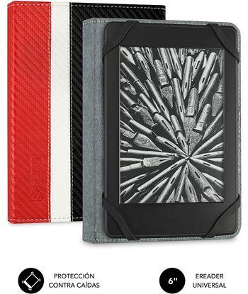 Nuevoelectro.com funda subblim clever ebook para e-reader 6''/15.24cm red - material exterior sub-cue-1ec002 - SUB-CUE-1EC002