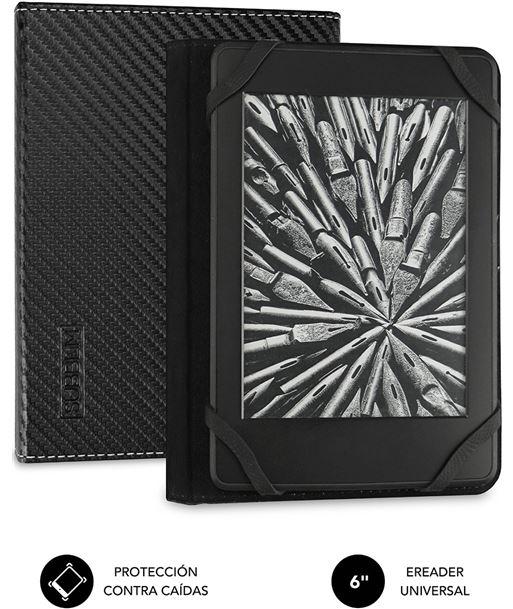 Nuevoelectro.com funda subblim clever ebook para e-reader 6''/15.24cm black - material exteri sub-cue-1ec001 - SUB-FUNDA CUE-1EC