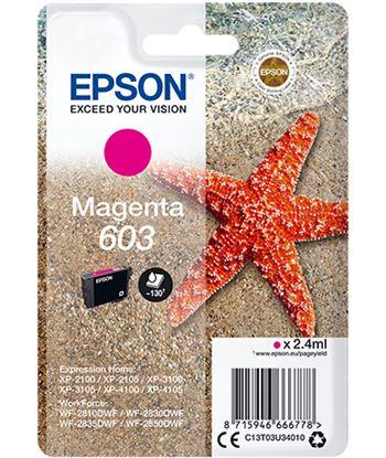 Epson C13T03U34010 cartucho tinta magenta 603 - 2.4ml - estrella mar - C13T03U34010