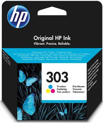 Cartucho tricolor Hp nº303 - 165 páginas aprox. - compatible según especifi T6N01AE - T6N01AE