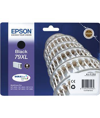 Cartucho tinta negro Epson 79xl - 41.8ml - torre de pisa - para wf-4630dwf C13T79014010 - EPS-C13T79014010