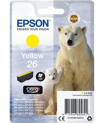 Epson C13T26144012 cartucho 26 4.5ml amarillo - oso polar - C13T26144012