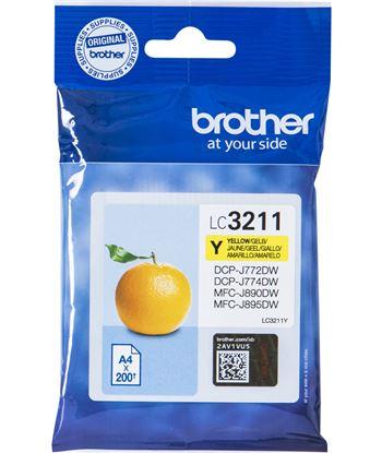 Cartucho de tinta amarillo Brother LC3211Y - 200 páginas - compatible según - BRO-C-LC3211Y