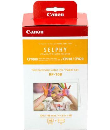 Canon 8568B001 multipack rp-108 cartucho tinta color + papel fotográfico - imprime h - 8568B001