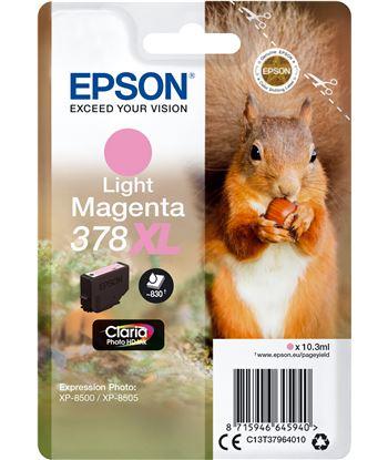 Cartucho tinta magenta claro Epson 378xl claria photo hd - 10.3ml - ardilla C13T37964010 - EPS-C13T37964010