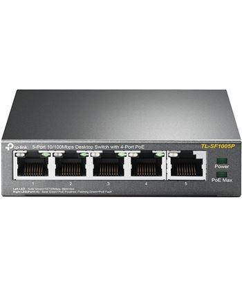 Tplink switch tp-link tl-sf1005p - 5 puertos 10/100 (4 puertos poe hasta 58w) - co - TL-SF1005P